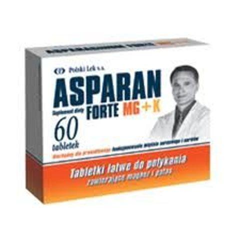 ASPARAN Forte x 60 tabletek