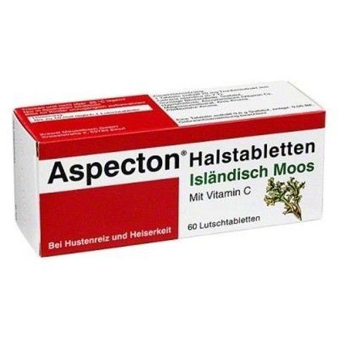 ASPECTON NA GARDŁO x 30 tabletek do ssania smak cz.porzeczki