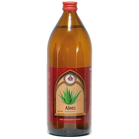 Aloes Sok bez konserwantów Produkt Bonifraterski 1000ml