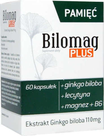 BILOMAG Plus x 60 kapsułek