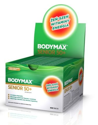 BODYMAX SENIOR 50+ x 600 tabletek