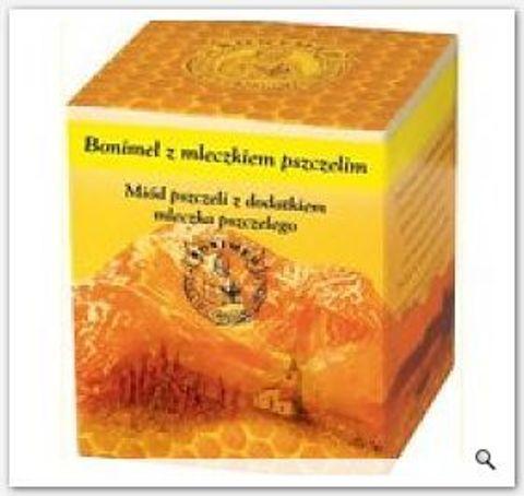 BONIMEL miód leczniczy z mleczkiem pszczelim 250g
