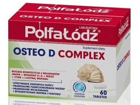 CALCIUM OSTEO D3+ x 60 tabletek