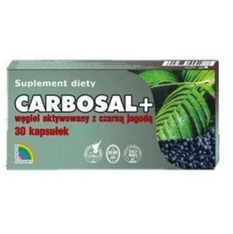 CARBOSAL+ Węgiel z czarną jagodą x 30 kapsułek