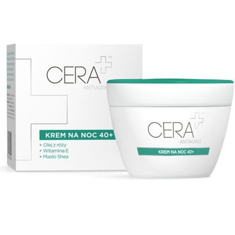 CERA+ Antiaging Krem na noc 40+ 50ml