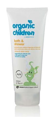 Cytrusowo-aloesowy żel myjący dla dzieci 200ml