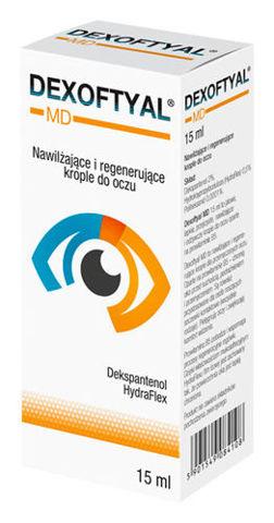 DEXOFTYAL MD krople do oczu 15ml