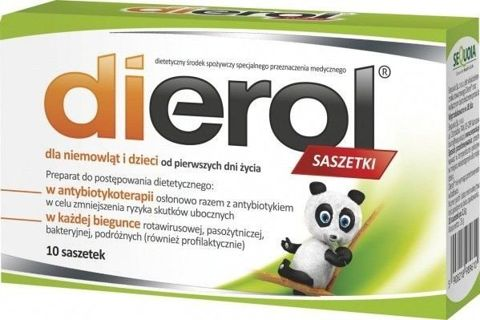 DIEROL Dla dzieci i niemowląt x 10 saszetek