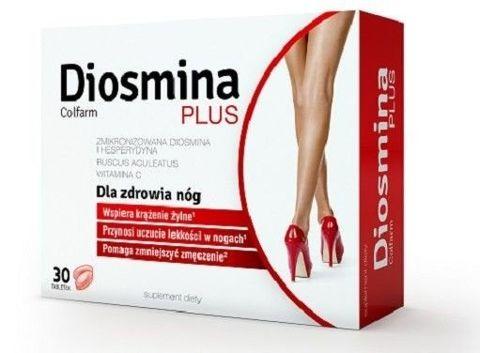 DIOSMINA PLUS x 30 kapsułek