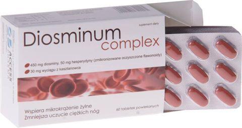 DIOSMINUM COMPLEX 0,5g x 60 tabletek