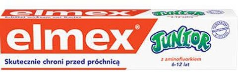 ELMEX Junior 6-12 lat 75ml