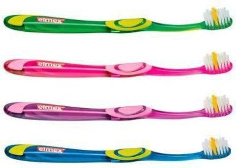 ELMEX Szczoteczka do zębów Junior 6-12 lat miękka x 1 sztuka