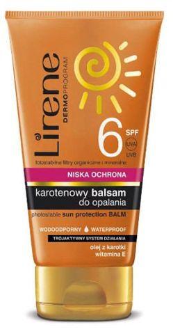 ERIS Lirene Karotenowy balsam do opalania SPF6 150ml