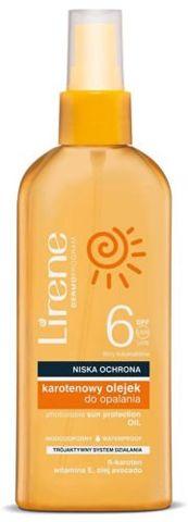 ERIS Lirene Karotenowy olejek do opalania SPF6 150ml