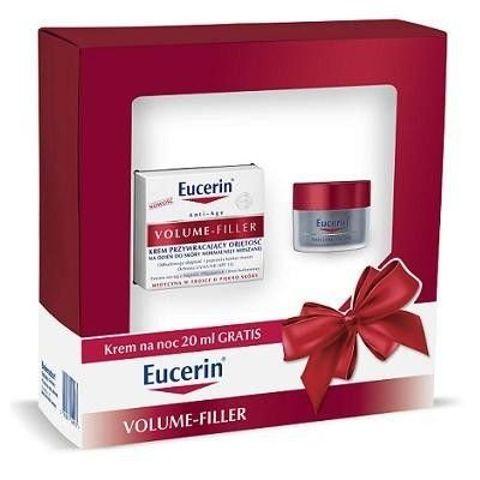 EUCERIN Zestaw Volume-Filler Krem przywracający objętość na dzień do skóry suchej 50ml + Krem na noc 20ml
