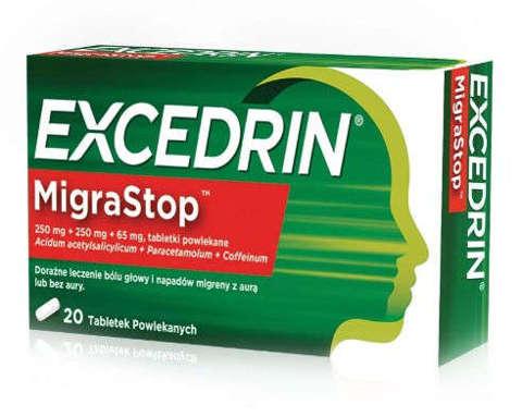 EXCEDRIN Migrastop x 20 tabletek