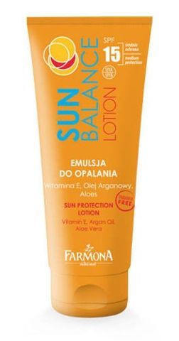 FARMONA Sun Balance Emulsja do opalania SPF15 200ml