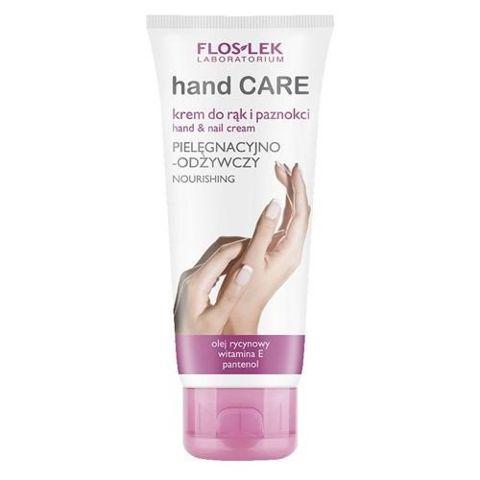 FLOSLEK Krem pielęgnacyjno-odżywczy do rąk i paznokci z olejem rycynowym 100ml
