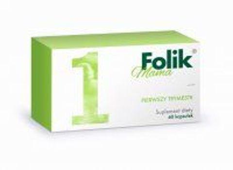 Folik Mama pierwszy trymestr x 60 kapsułek