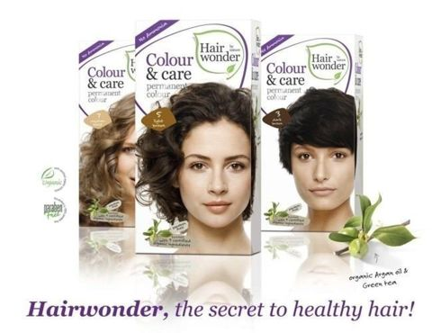 HAIRWONDER Colour & Care Farba do włosów 3-DARK BROWN 100ml