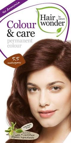 HAIRWONDER Colour & Care Farba do włosów 5.5 Mahogany 100ml
