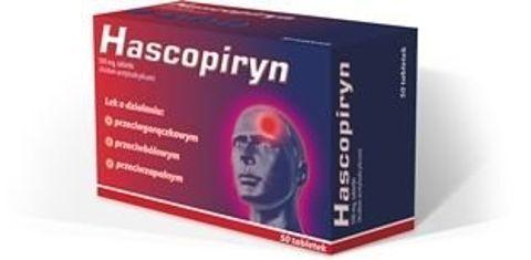 HASCOPIRYN 500mg x 10 tabletek