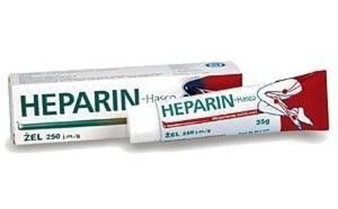 HEPARIN żel 35g