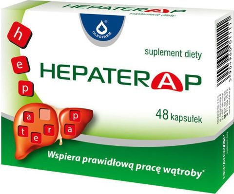 HEPATERAP x 48 kapsułek