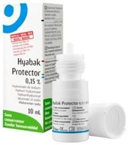 HYABAK PROTECTOR krople do oczu 0,15% 10ml