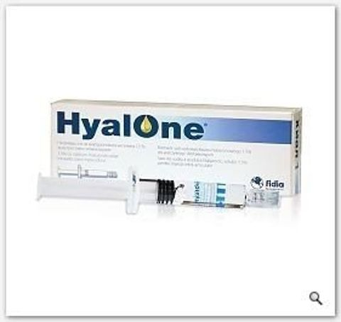 HYALONE Roztwór do wstrzykiwania 60mg/4ml x 1 ampułko-strzykawka