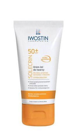 IWOSTIN Solecrin SPF50+ krem-żel do twarzy 50ml