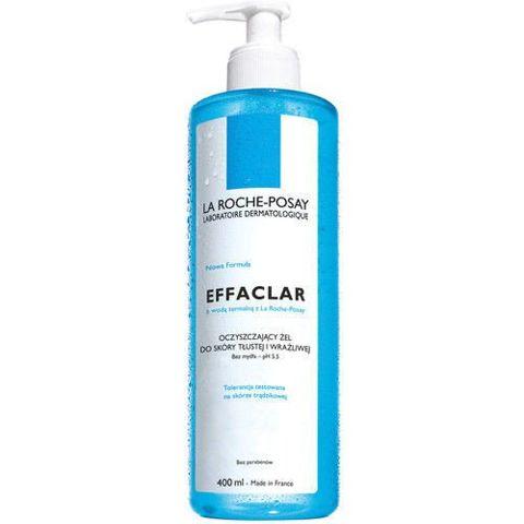 LA ROCHE Effaclar Żel do mycia skóra tłusta i wrażliwa 400ml
