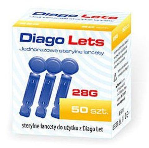 LANCETY DIAGO LETS x 50 sztuk