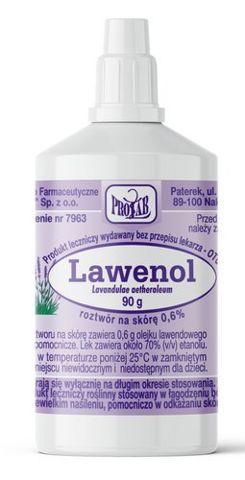 LAWENOL Spirytus lawendowy płyn 90g