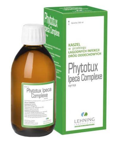 LEHNING Phytotux syrop 250ml