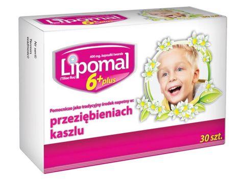 LIPOMAL 6 Plus x 30 kapsułek