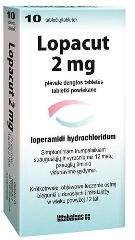 LOPACUT 2mg x 10 tabletek