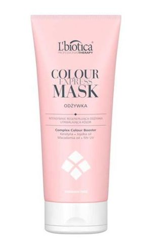 L'biotica Professional Therapy Colour Express Mask Odżywka utrwalająca kolor 200ml