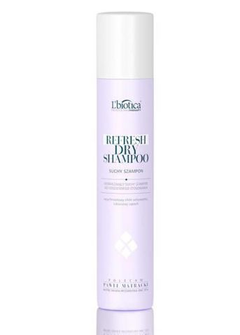 L'biotica Professional Therapy Refresh Dry Shampoo - suchy szampon 200ml
