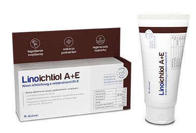 Linoichtiol A+E krem 50g