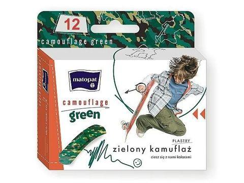 Matopat Camouflage Green plastry x 12 sztuk