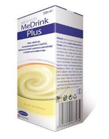 MeDrink Plus Płyn waniliowy 200ml