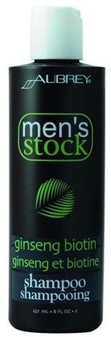 Men's Stock Krok 1 Szampon do włosów z Żeń-Szeniem i Biotyną dla mężczyzn 237ml