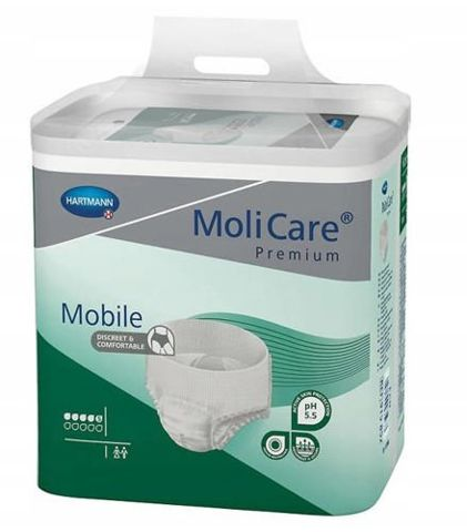 MoliCare Mobile majtki chłonne rozmiar L x 60 sztuk