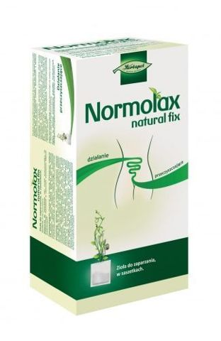 NORMOLAX Natural fix 2,3g x 20 saszetek