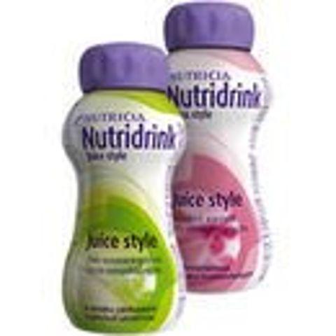 NUTRIDRINK Juice Style smak jabłkowy 200ml