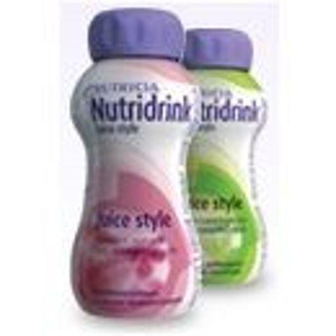 NUTRIDRINK Juice Style smak truskawkowy 200ml