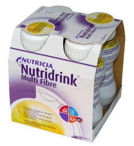 NUTRIDRINK MULTI FIBRE smak waniliowy 200ml x 4 sztuki