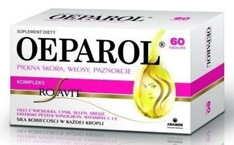 OEPAROL Piękna Skóra Włosy Paznokcie x 60 kapsułek