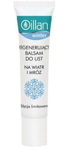 OILLAN WINTER Balsam do ust regenerujący na wiatr i mróz 15ml
